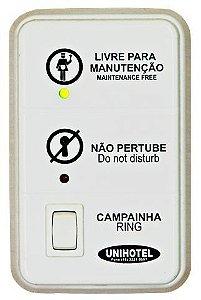 Sinalizador - Modelo Clean – com opção de botão para campainha
