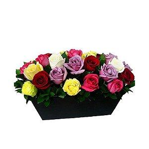 Arranjo de Rosas Color Garden