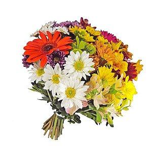 Buquê de Flores do Campo Alegria
