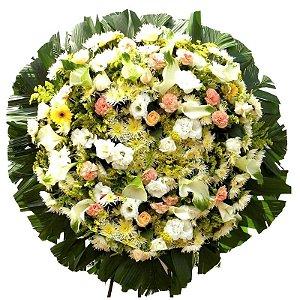 Coroa de Flores para Velório Sentimentos