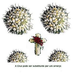 Flores para Sala de Velório Conjunto Simples