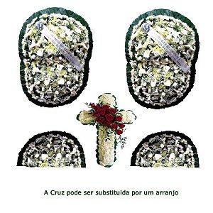 Flores para Sala de Velório Conjunto Luxuoso