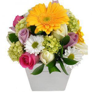 Arranjo de Flores Gratidão