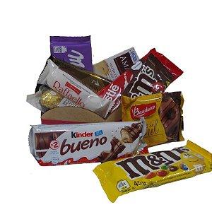 Cesta de Chocolate Sweet