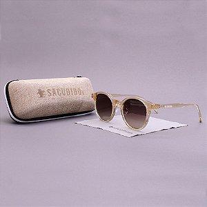 Óculos Sacudido´s - Acetato Redondo - Transparente