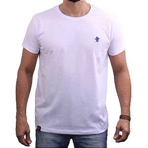 Camiseta Sacudido's - Básica - Branco -Royal