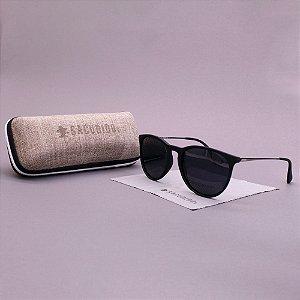 Óculos Sacudido´s - Arredondado -Preto Fosco Metal
