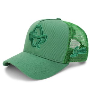 Boné Sacudido's - Logo Estilizado - Verde