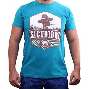 Camiseta Sacudido's - Agro - Verde Piscini