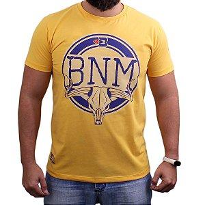 Camiseta Bão Nu Mundo - Caveira - Papaya