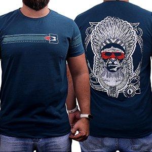 Camiseta Bão Nu Mundo - Indio - Verde Musgo