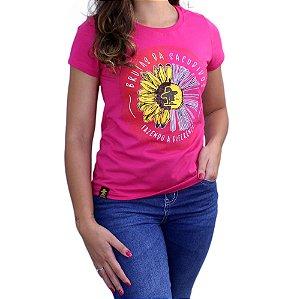 Camiseta Sacudido's Feminina - Brutas - Pink