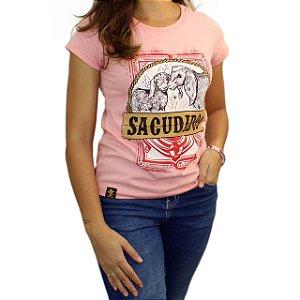 Camiseta Sacudido's Feminina - Mãe Carneira -Candy