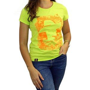 Camiseta Sacudido's Feminina - Logo - Verde