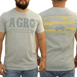 Camiseta Sacudido's Estonada - Cinza