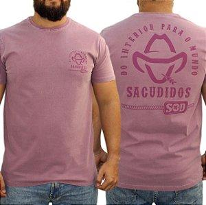 Camiseta Sacudido's Estonada - Vinho