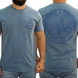 Camiseta Sacudido's Estonada - Marinho