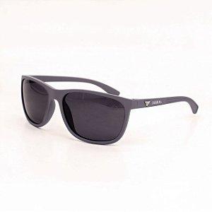 Óculos Sacudido´s - Cinza Fosco - Lente Preta