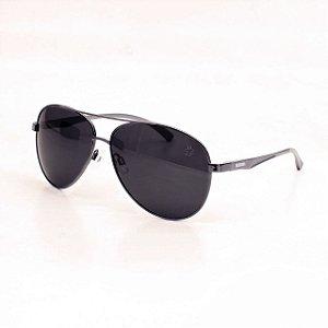 Óculos Sacudido´s - Aviador Níquel - Lente Preta