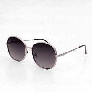 Óculos Sacudido´s - Arredondado Níquel-Lente Preta