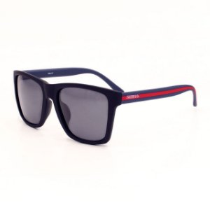 Óculos Sacudido´s - Haste Azul / Vermelho - Preto