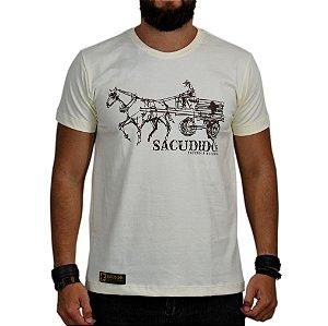 Camiseta Sacudido's Natural Carroça