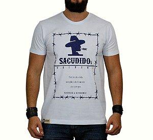 Camiseta Sacudido's Arame Branca