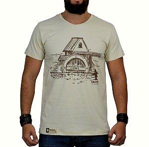 Camiseta Sacudido's Celeiro Bege