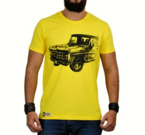 Camiseta Sacudido's F1000 Bruta Amarela