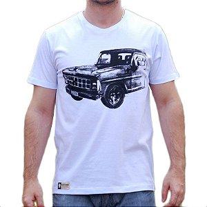 Camiseta Sacudido's F1000 Bruta Branca