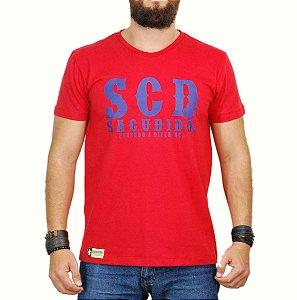 Camiseta Sacudido's SCD Vermelho