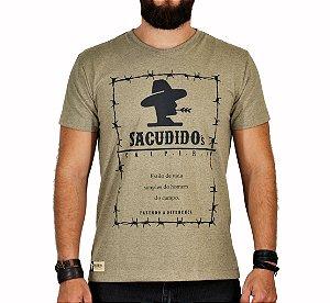 Camiseta Sacudido's Arame Farpado Charuto