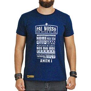 Camiseta Sacudido's Oração Azul Marinho