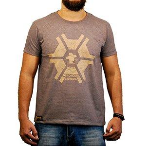 Camiseta Sacudido's Agronomia - Café