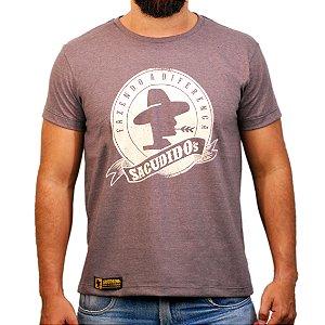 Camiseta Sacudido's - Tradicional - Café Mescla