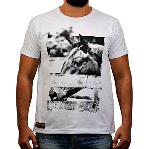 Camiseta Sacudido's Foto Cavalo