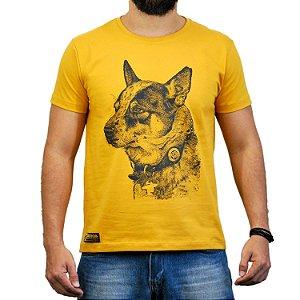 Camiseta Sacudido's Boiadeiro Australiano - Mostarda
