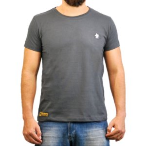 Camiseta Sacudido's Básica - Chumbo