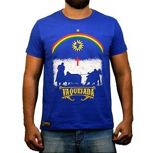 Camiseta Sacudido's Vaquejada - Azul