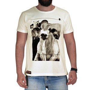 Camiseta Sacudido's - Nelore - Off White