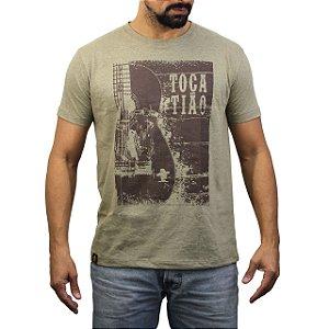 Camiseta Sacudido´s - Toca Tião - Bege