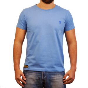 Camiseta Sacudido's Básica - Azul Celeste