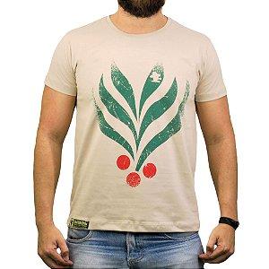 Camiseta Sacudido's Café - Bege