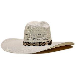 Chapéu Bangora Tradicional Sacudidos - Branco