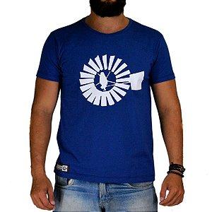 Camiseta Bão Nu Mundo - Tradicional - Marinho
