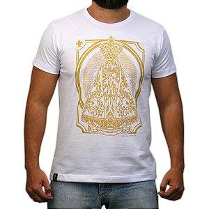 Camiseta Sacudido's - Aparecida - Branco