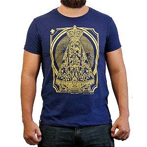 Camiseta Sacudido's - Aparecida - Marinho