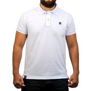 Camiseta Polo Sacudido's - Branco Liso