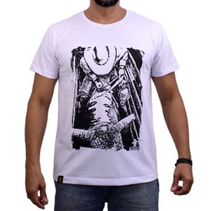 Camiseta Sacudido's - Peão no Brete - Branco