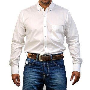 Camisa Manga Longa Sacudido's Lisa - Branco